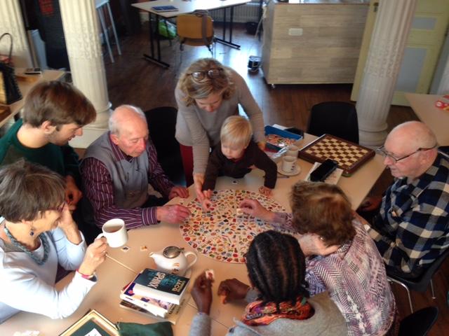 Partie de Scrabble